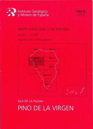 PINO DE LA VIRGEN, 1083-III (69/74) : MAPA GEOLÓGICO DE ESPAÑA ESCALA 1:25000 IS