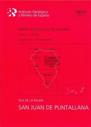SAN JUAN DE PUNTALLANA, 1083-IV (70/74): MAPA GEOLÓGICO DE ESPAÑA ESCALA 1:25000