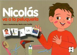 NICOLAS VA A LA PELUQUERIA.COL.PICTOGRAMAS.04.CEPE