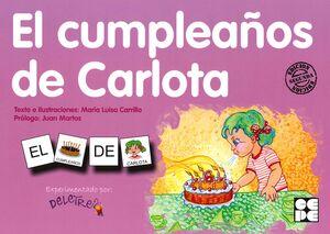 PICTOGRAMAS 8. EL CUMPLEAÑOS DE CARLOTA.CEPE