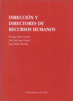 DIRECCION Y DIRECTORES DE RECURSOS HUMANOS