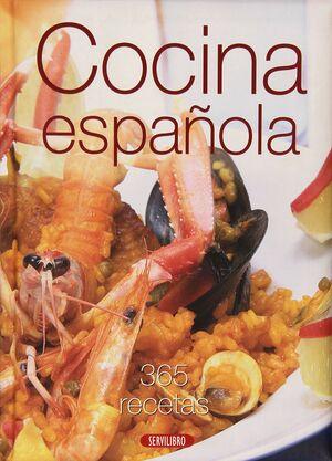 COCINA ESPA¥OLA 365 RECETAS