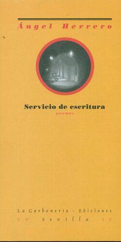 SERVICIO DE ESCRITURA