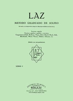 LAZ CON ACOMPAÑAMIENTO - LIBRO I