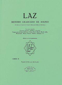 LAZ CON ACOMPAÑAMIENTO - LIBRO II