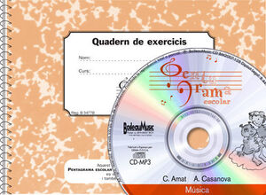 PENTAGRAMA ESCOLAR 4 - CD + QUADERN D'EXERCICIS