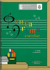 PENTAGRAMA ESCOLAR 6 CATALA LLIBRE CD