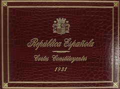 REPUBLICA ESPAÑOLA-CORTES CONSTITUYENTES 1931 FACSIMIL
