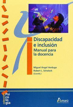 DISCAPACIDAD E INCLUSION  MANUAL DE DOCENCIA