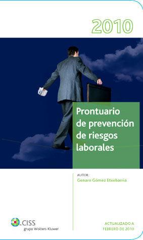PRONTUARIO PREVENCIÓN RIESGOS LABORALES