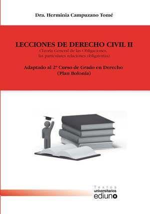 LECCIONES DE DERECHO CIVIL II