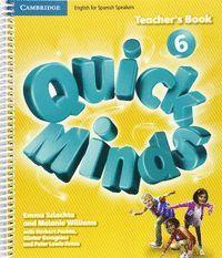 QUICK MINDS LEVEL 6 TEACHER'S BOOK SPANISH EDITION
