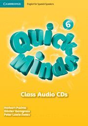 QUICK MINDS LEVEL 6 CLASS AUDIO CDS SPANISH EDITION