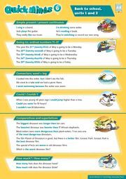 QUICK MINDS LEVEL 6 POSTERS SPANISH EDITION