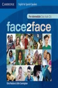 FACE 2 FACE PRE-INTERMEDIATE CD