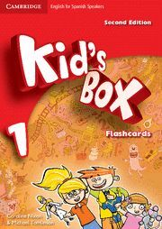 KID'S BOX 1 FOR SPANISH SPEAKERS FLASHCARDS (2ND EDITION)