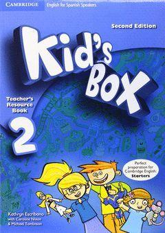 KID'S BOX 2 (2ND ED.) TEACHER'S RESOURCE BOOK WITH AUDIO CD