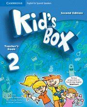 KID'S BOX 2 (2ND ED.) TEACHER'S BOOK