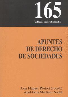 APUNTES DE DERECHO DE SOCIEDADES