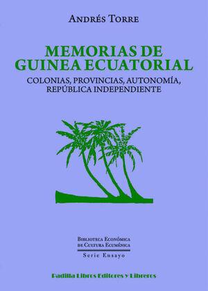 MEMORIAS DE GUINEA ECUATORIAL