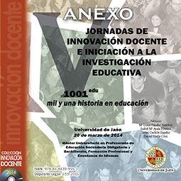 ANEXO V JORNADAS DE INNOVACIÓN DOCENTE E INICIACIÓN A LA INVESTIGACIÓN EDUCATIVA