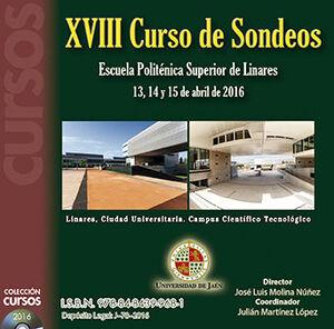 XVIII CURSO DE SONDEOS.