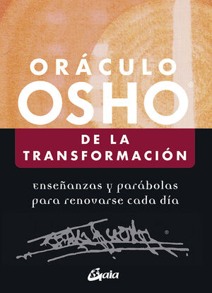 ORÁCULO OSHO DE LA TRANSFORMACIÓN