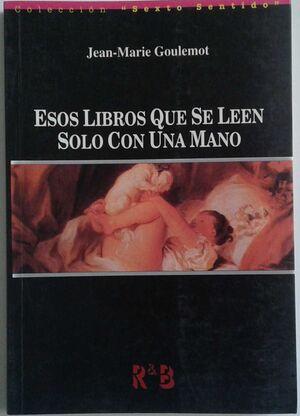 ESOS LIBROS QUE SE LEEN SOLO CON UNA MANO