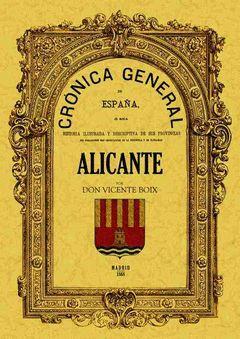 CRONICA DE LA PROVINCIA DE ALICANTE