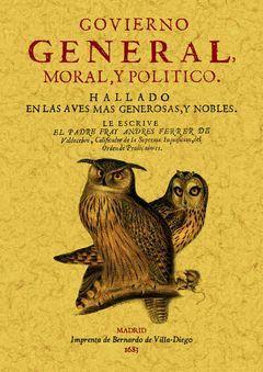 GOVIERNO GENERAL, MORAL Y POLITICO: HALLADO EN LAS AVES