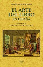 EL LIBRO DEL ARTE EN ESPAÑA