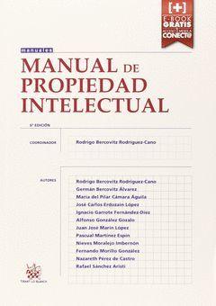 MANUAL DE PROPIEDAD INTELECTUAL 6ªED.  2015