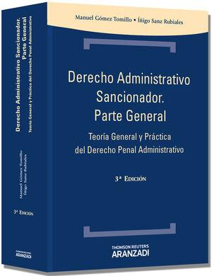 DERECHO ADMINISTRATIVO SANCIONADOR. PARTE GENERAL (3 ED.)