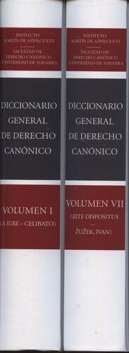 DICCIONARIO GENERAL DE DERECHO CANÓNICO (7 VOLS.)