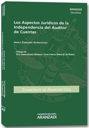 ASPECTOS JURIDICOS DE LA  INDEPENDENCIA DEL AUDITOR DE CUENTAS, LOS