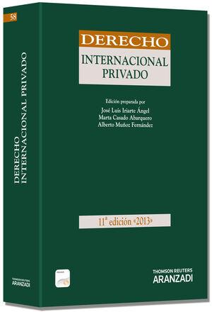 DERECHO INTERNACIONAL PRIVADO 2013