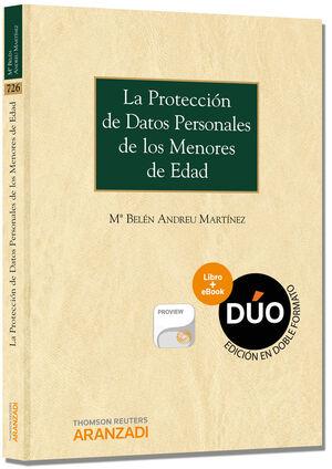 LA PROTECCIÓN DE DATOS PERSONALES DE LOS MENORES DE EDAD (DÚO)