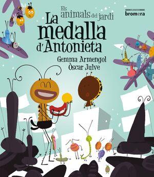 ANIMALS DEL JARDI-014. MEDALLA D'ANTONIETA, LA.MANUSCRITA.BROMERA-INF
