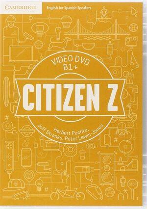 CITIZEN Z  VIDEO DVD B1+