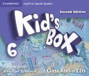 KID'S BOX 6 CLASS AUDIO CDS