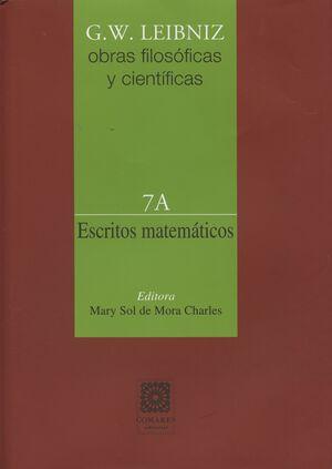 ESCRITOS MATEMÁTICOS 7A