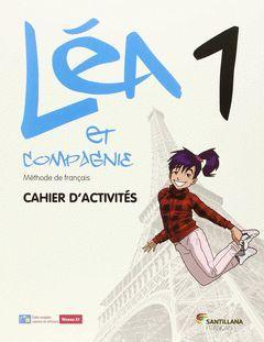 LEA ET CIE 1 CAHIER + CD CAHIER ED15