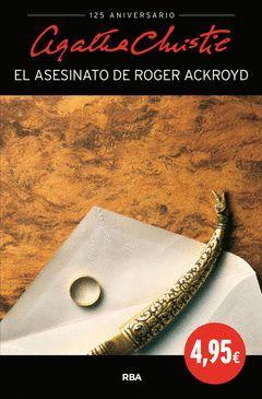 ASESINATO DE ROGER ACKROYD,EL.RBA
