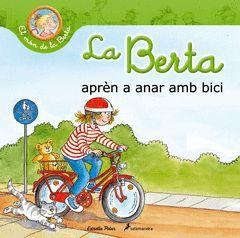 LA BERTA APREN A ANAR AMB BICI