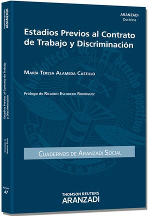 ESTADIOS PREVIOS AL CONTRATO DE TRABAJO Y DISCRIMINACIÓN