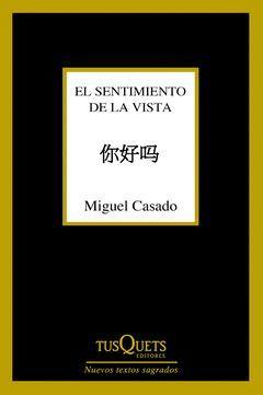 SENTIMIENTO DE LA VISTA,EL.TUSQUETS-292
