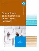 OPERACIONES ADM.RECURSOS HUMANOS GM CF 16