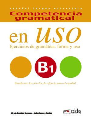 COMPETENCIA GRAMATICAL EN USO B1 (LIBRO+AUDIO DESCARGABLE)