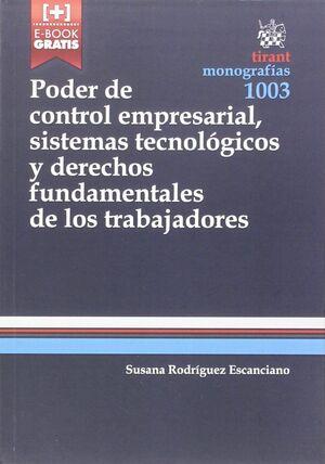 PODER DE CONTROL EMPRESARIAL, SISTEMAS TECNOLOGICOS Y