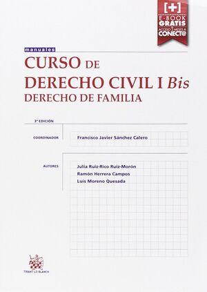 CURSO DE DERECHO CIVIL I BIS